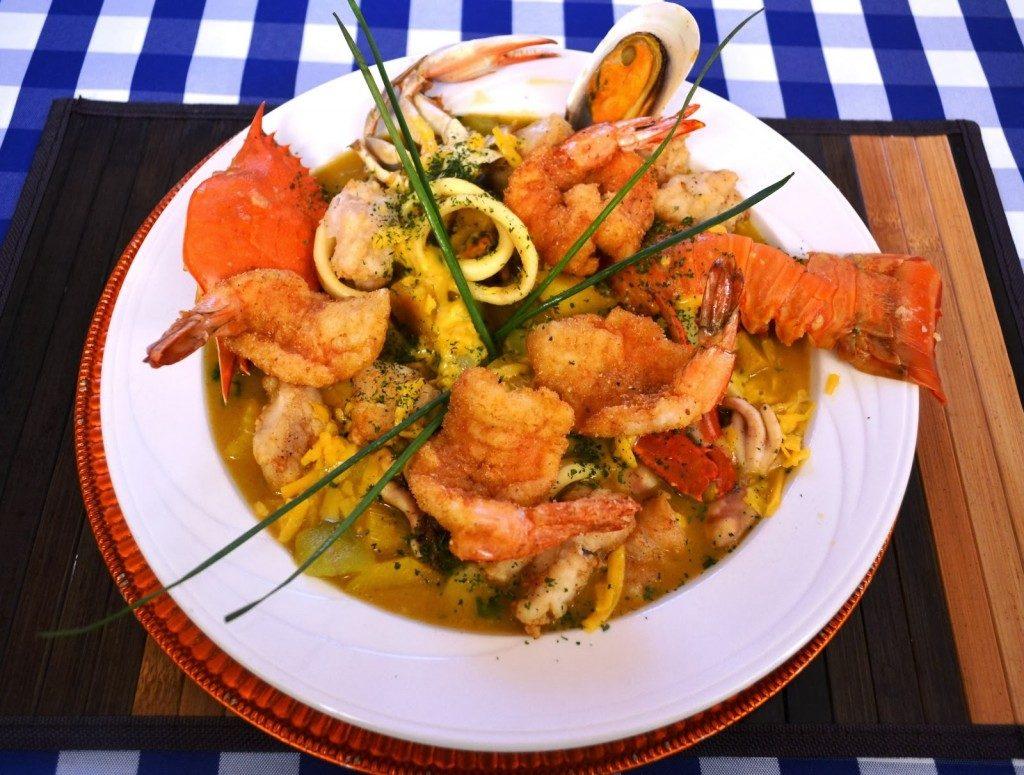 Gastronomía en San Andrés