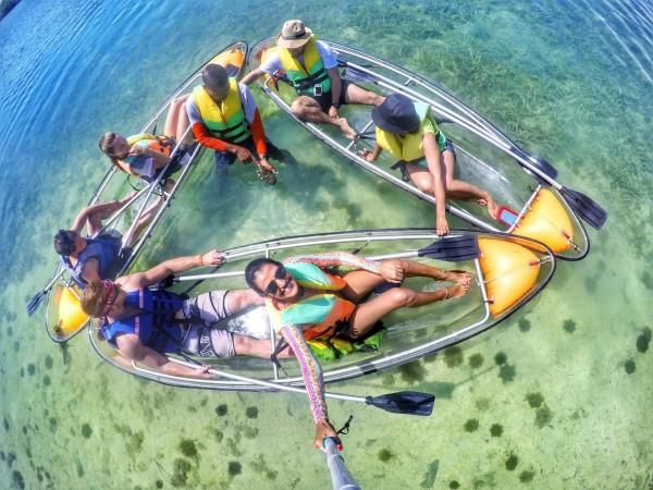 Kayak en San Andrés