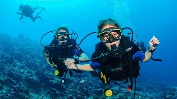 Buceo de profundidad  especialidad