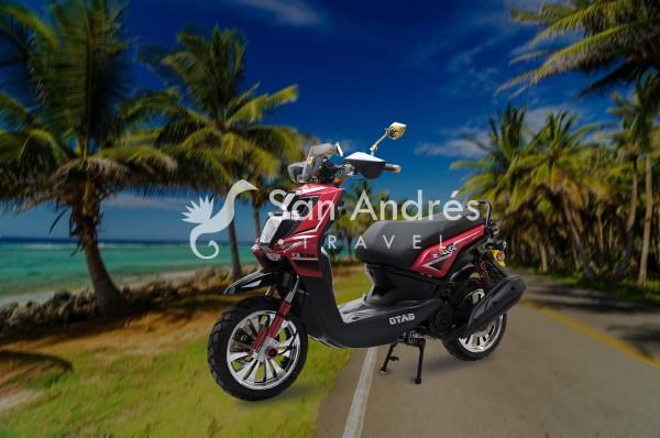 Moto BWS San Andrés